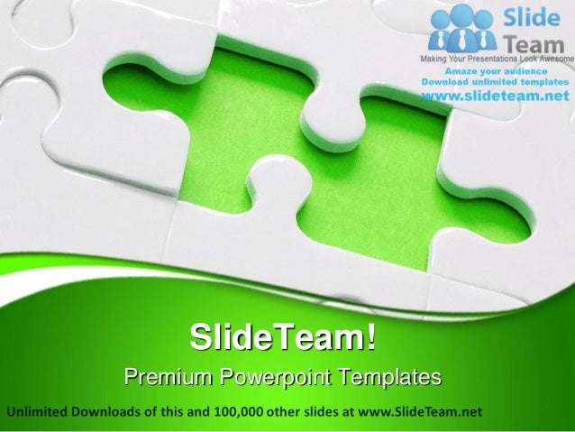 jigsaw puzzle business power point templates themes and backgrounds p