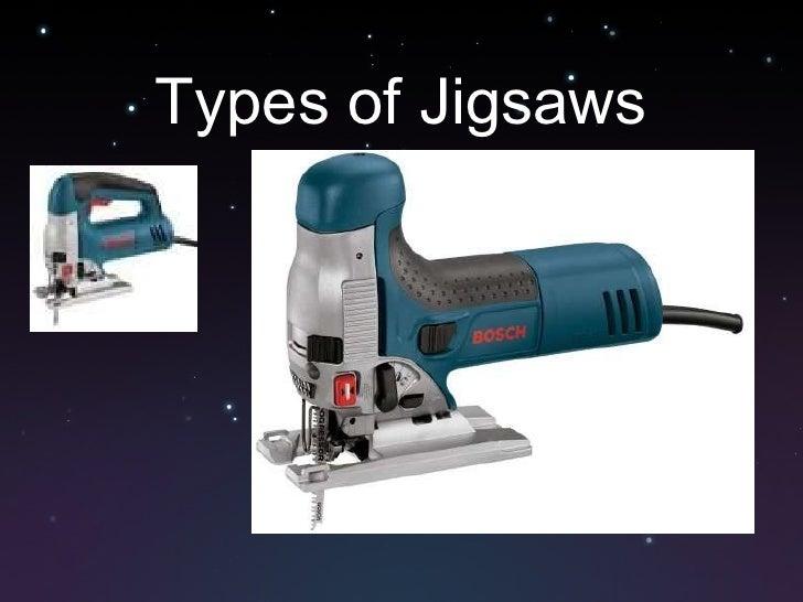 Types of Jigsaws