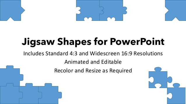 Includes Standard 4:3 and Widescreen 16:9 Resolutions Animated and Editable Recolor and Resize as Required