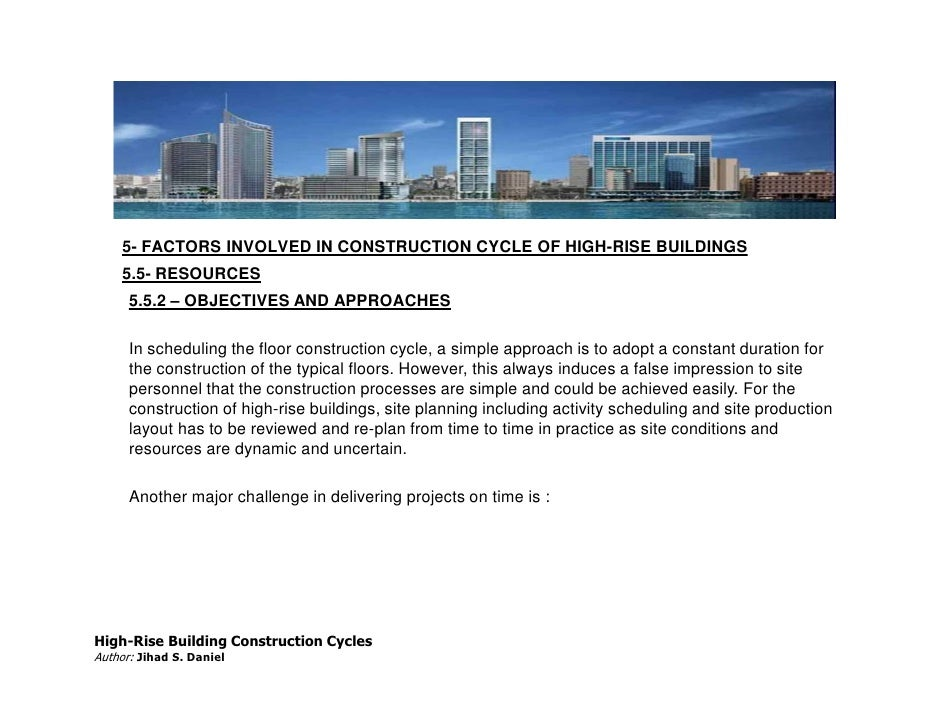 Js daniel paper for high rise building construction cycle high rise building construction cyclesauthor jihad s daniel 52 thecheapjerseys Choice Image