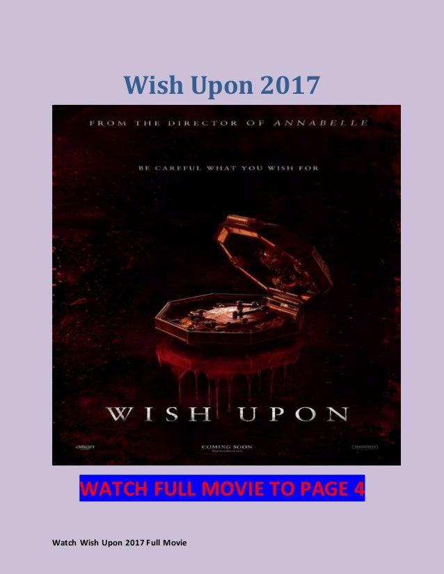 wish upon stream deutsch