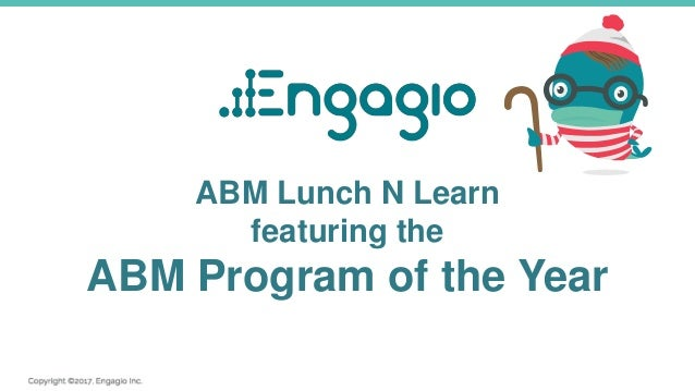 ABM Lunch N Learn featuring the ABM Program of the Year
