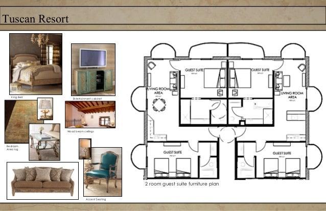 Tuscan ResortFurniture plan- Third Floor