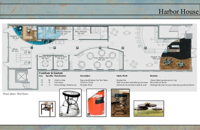"""Harbor HouseElevations and Sections in """"The Fort"""""""