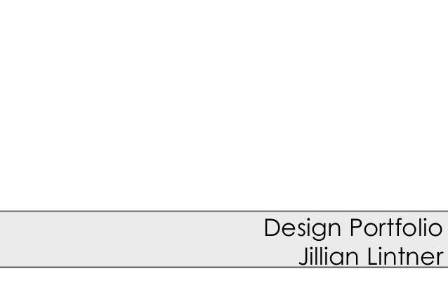 Jill lintner's portfolio