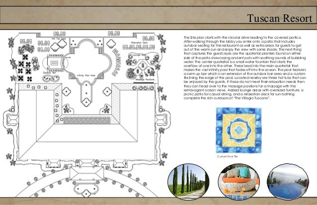 Tuscan ResortFurniture plan- First Floor