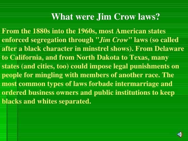 Jim Crow Signs Powerpoint Slide 2