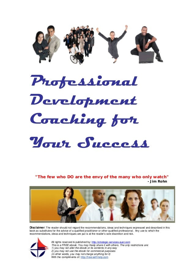 Jim rohn coaching book download professional development coaching for your success the few who do are the envy of the malvernweather Images