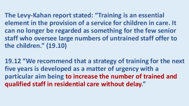…Work in children's homes is certainly demanding. But it's also fascinating and rewarding and offers much more variation a...