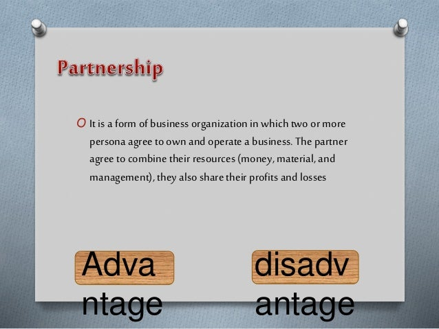 O It is a form of business organization in which two ormore persona agreeto ownand operate a business. Thepartner agreeto ...