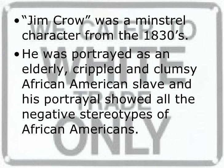 Jim Crow Slide 2