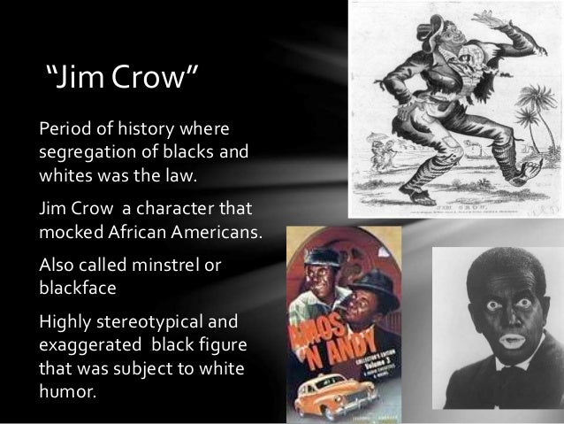 jim crow laws paper