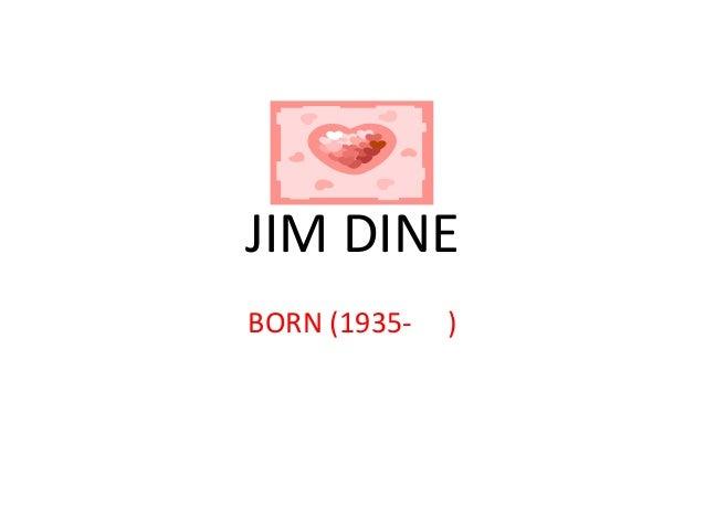 JIM DINEBORN (1935-   )