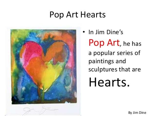 pop art hearts ... Pop Art Paintings Of Objects