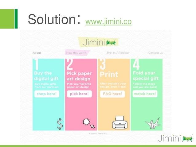 Solution:   www.jimini.co
