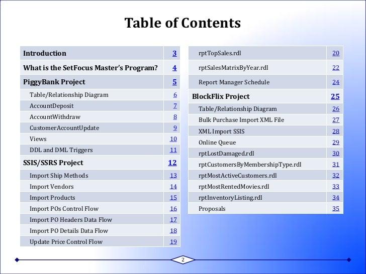 Jim Killian\'s SQL Server 2008 Portfolio