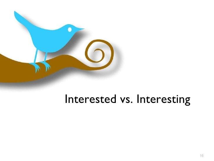 Interested vs. Interesting