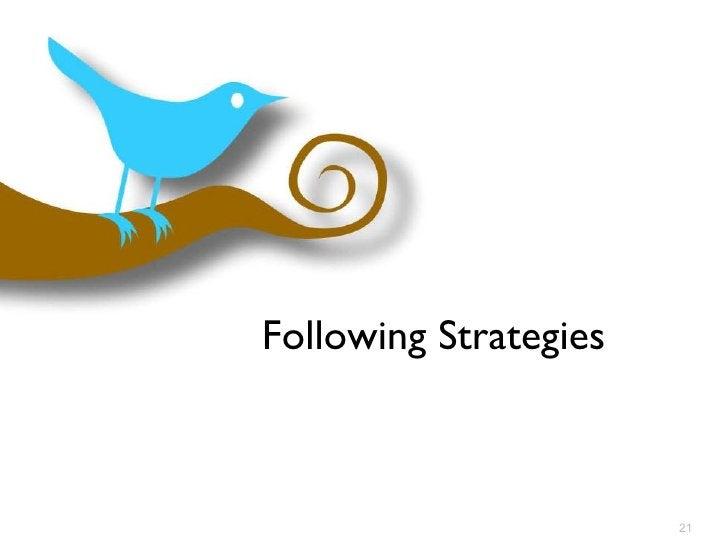 Following Strategies
