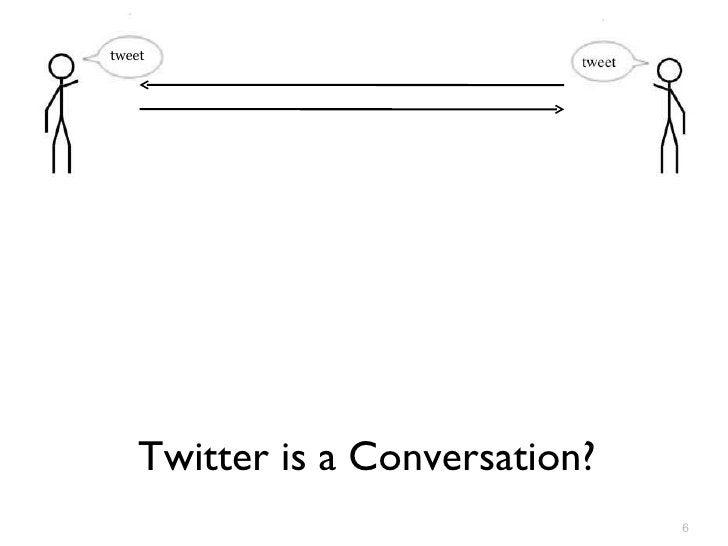 Twitter is a Conversation? tweet
