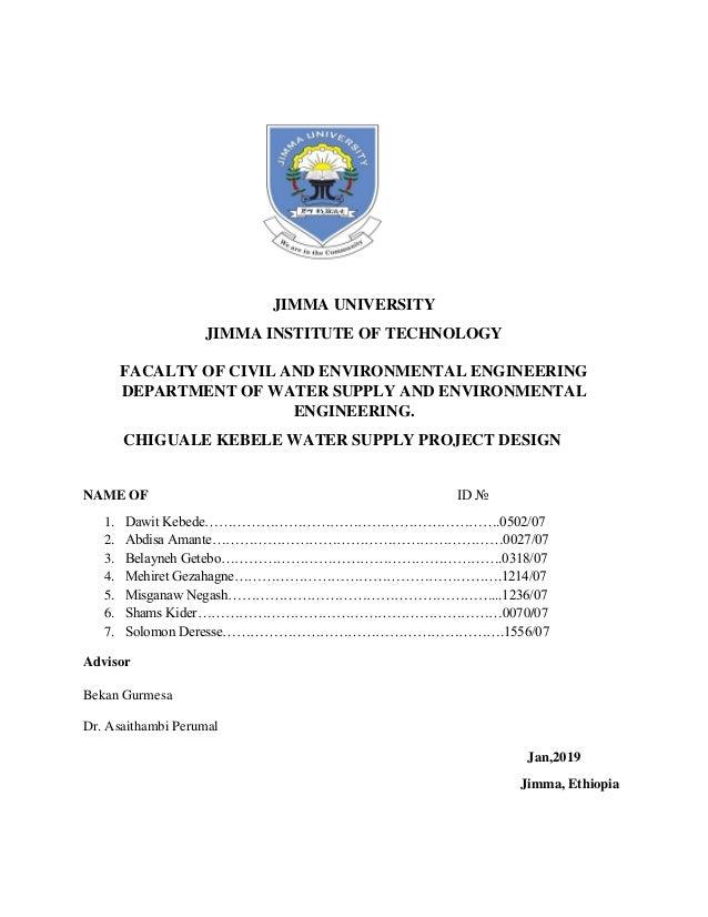 Jimma University Masters Program