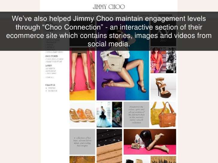 jimmy choo case study Manolo blahnik-case study published on march  some competitors of manolo blahnik are christian louboutin and jimmy choo and their online performances are highly .