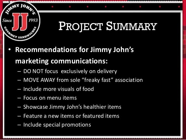 Jimmy John  s Speed dating