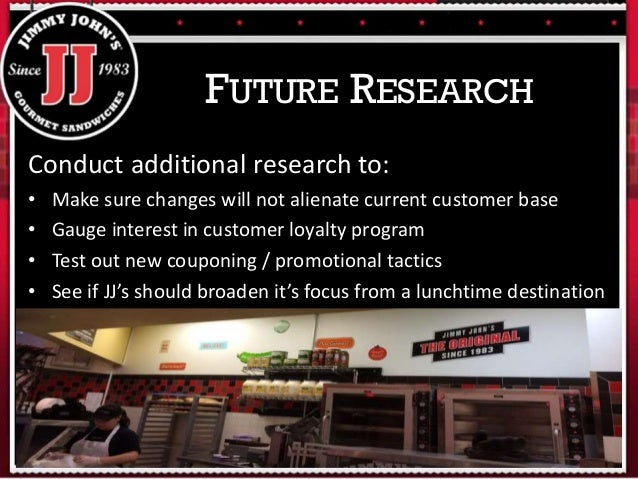 jimmy johns research paper 79 reviews of jimmy john's when i want a fast sandwich, jimmy johns is my go-to sub shop 10900 research blvd austin, tx 78759.