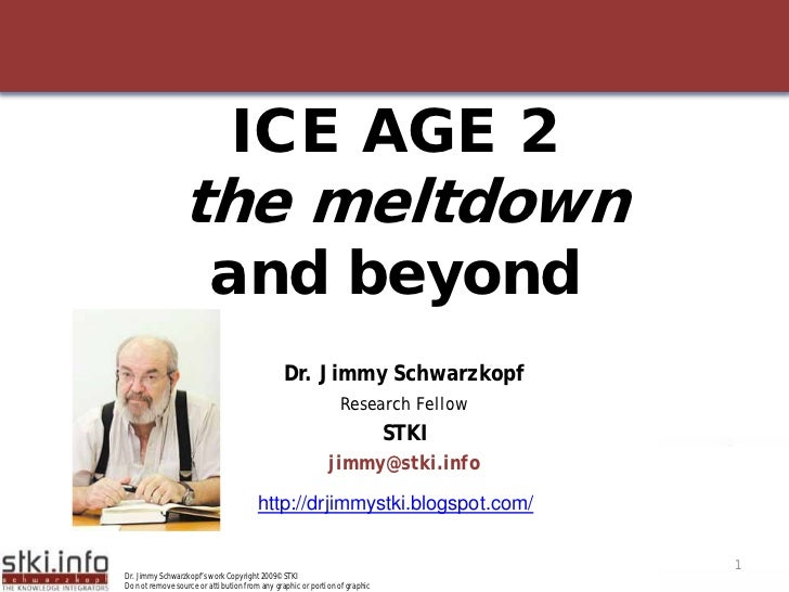 ICE AGE 2                  the meltdown                          and beyond                                               ...