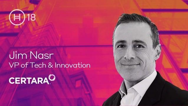 JimNasr VP of Tech & Innovation