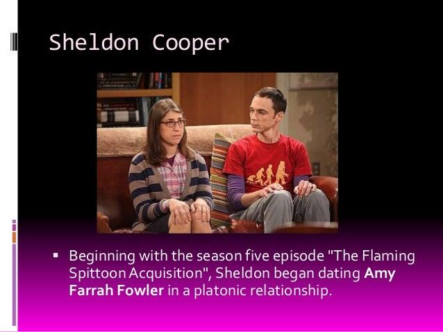 Sheldon Cooper dating online