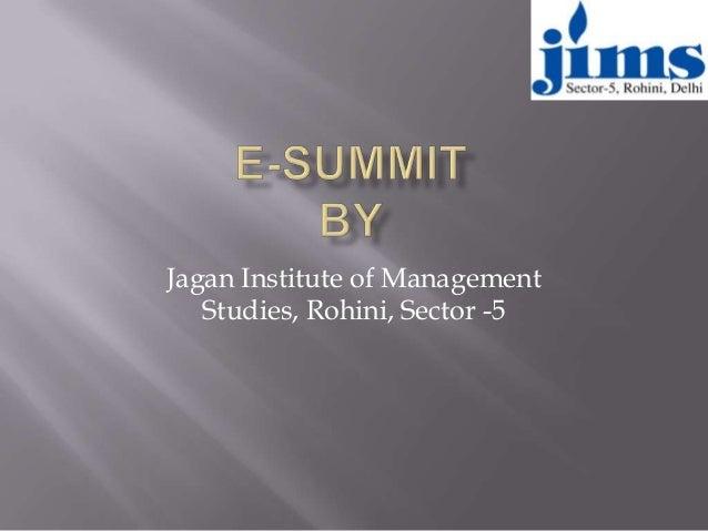 Jagan Institute of Management Studies, Rohini, Sector -5