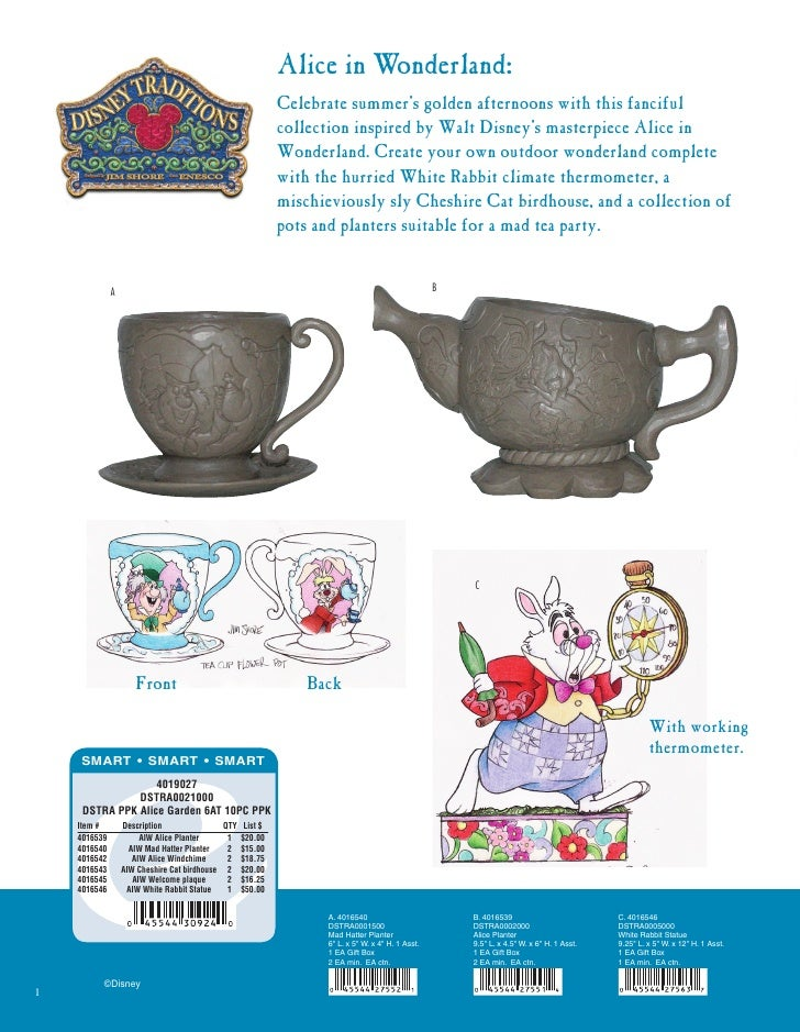 Alice in Wonderland:                                                           Celebrate summer's golden afternoons with t...