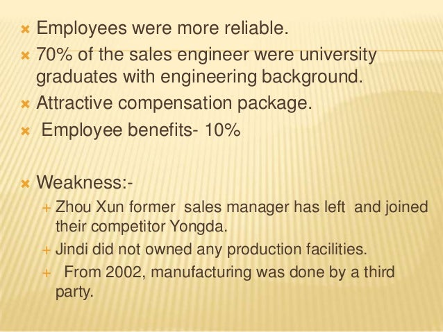Jindi Enterprises: Finding a New Sales Manager Case Study Analysis & Solution