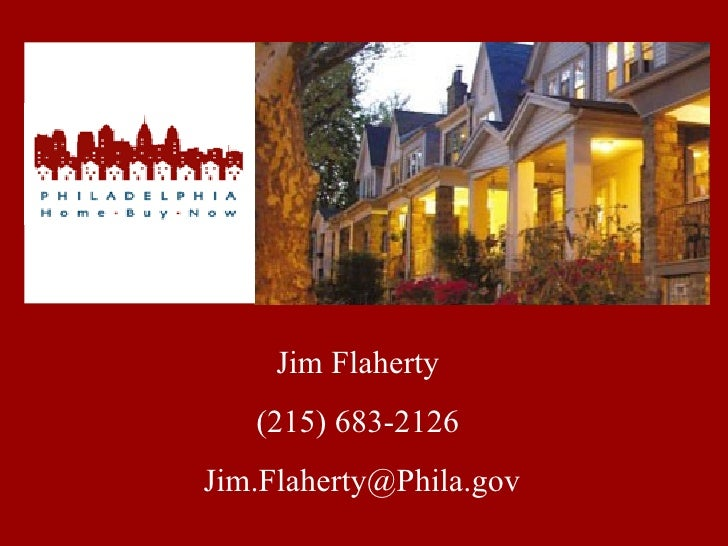 Jim Flaherty (215) 683-2126 [email_address]