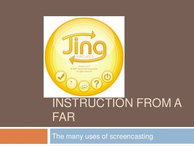 INSTRUCTION FROM AFARThe many uses of screencasting