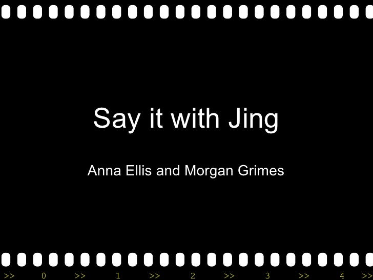 Say it with Jing Anna Ellis and Morgan Grimes