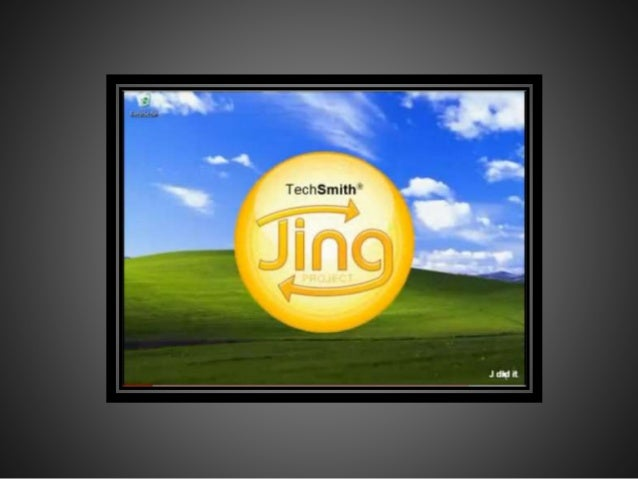 "Capture what you see. Initiate a capture by clicking Jing's happy always-ready ""sun"" icon. You can capture a window, pane,..."