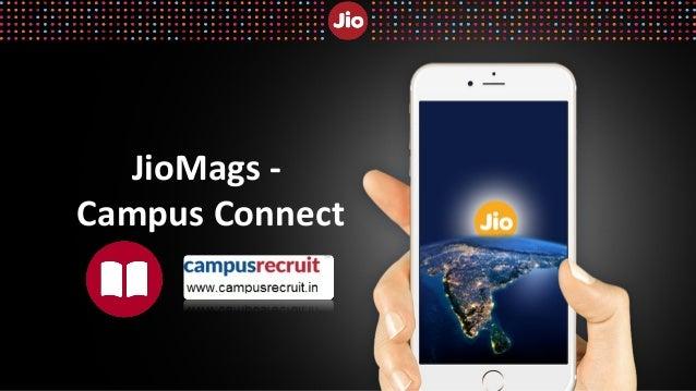 JioMags - Campus Connect Registration