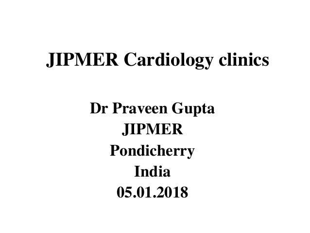 Jipmer cardiology clinics