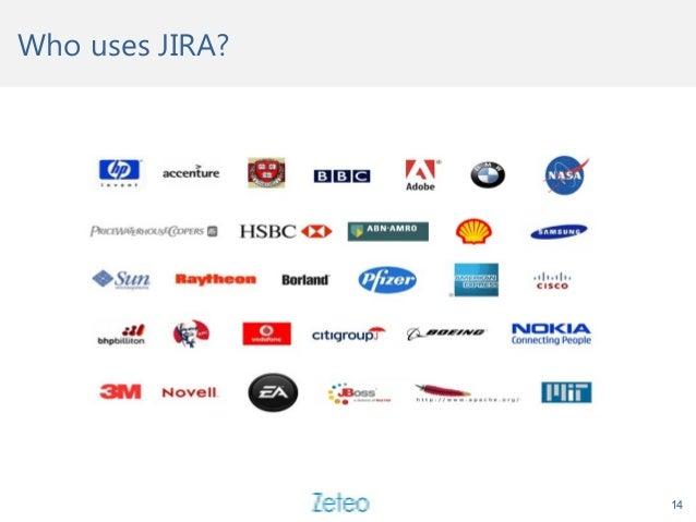 Who uses JIRA? 14