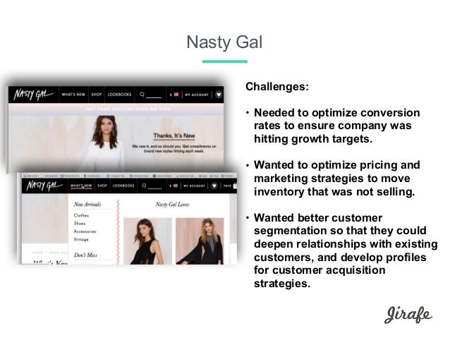 social media marketing project nasty gal Marketing | 1 min read  how'd sophia turn her side-project into one of the  hottest fashion brands for young women today  (3:55) how sophia used  social media to fuel nasty gal's growth (4:45) why sophia named nasty.
