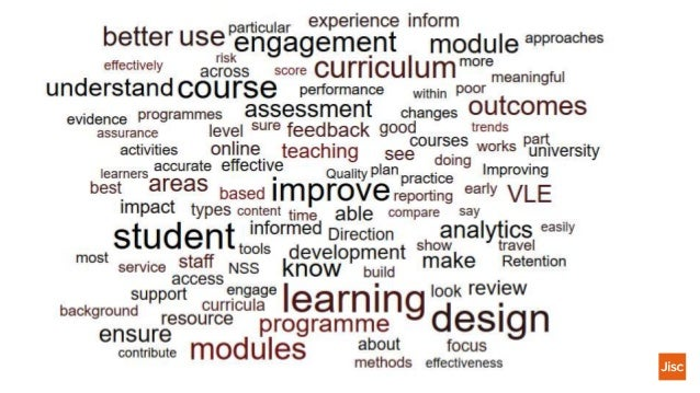 Jisc Curriculum Analytics6