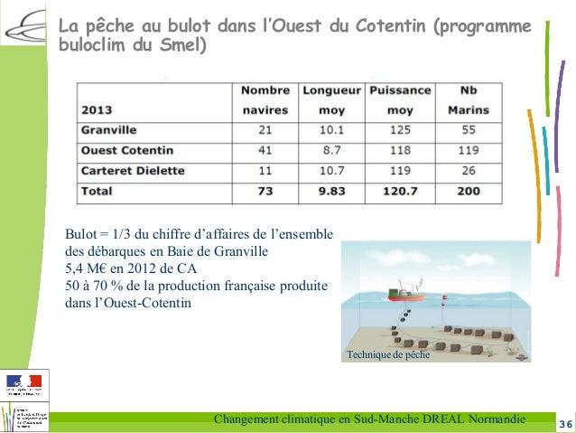 36Changement climatique en Sud-Manche DREAL Normandie La pêche au bulot dans l'Ouest du Cotentin (programme buloclim du Sm...