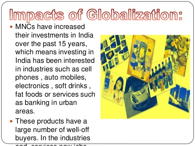 globalization and its impact on marketing The impact of globalization on cross-cultural communication by lowell c  matthews and bharat thakkar submitted: december 21st 2011reviewed: april  2nd.