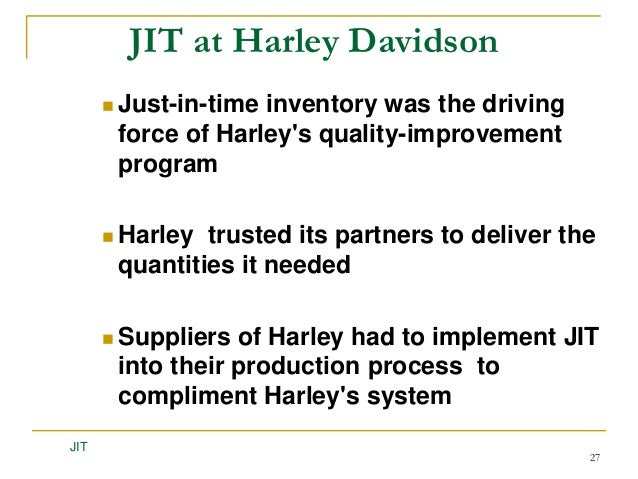 just in time inventory Abstract—just-in-time (jit) has been a very popular operations strategy partly because of its success in the japanese industry various benefits, for example, inventory.