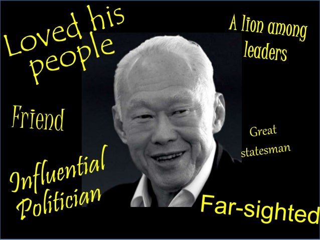Singaporeans remember him…