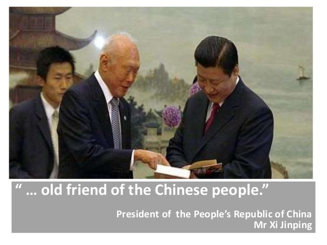 """"""" … old friend of the Chinese people."""" President of the People's Republic of China Mr Xi Jinping"""