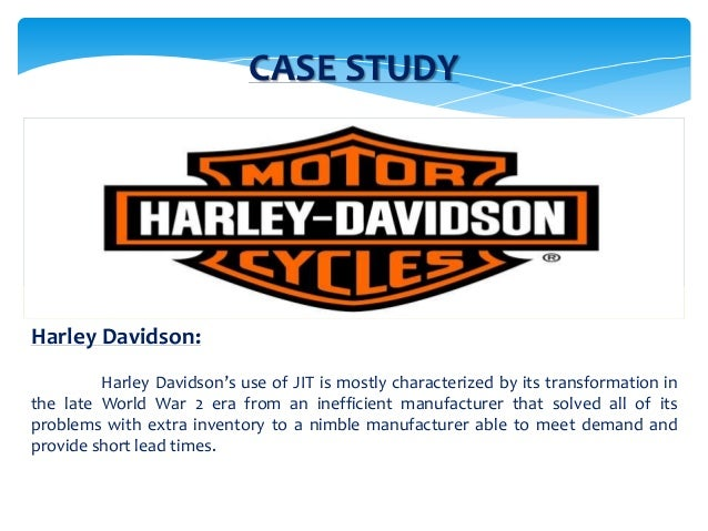 harley davidson supply chain improvements essay Ford motor company,  we welcome suggested improvements to any of our articles you can make it easier for us to review and, hopefully,.