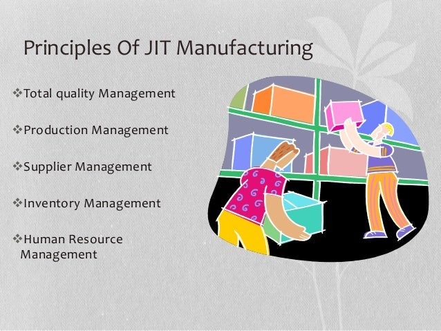 jit manufacturing technique thesis Analysis of interactions among the barriers to jit production: interpretive structural modelling approach.