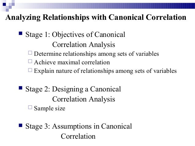 an analysis of the purpose of linear correlation and the variables affecting each other Multiple correlation and the linear model is also known as analysis of variance which may be or interactions of subject variables with each other.